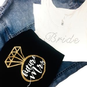 NEW BRIDE 💍👰 Future Mrs. (Bundle Tee & Tank)